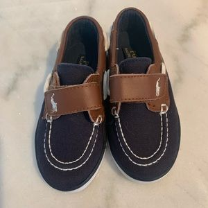 Toddler Polo boat shoes